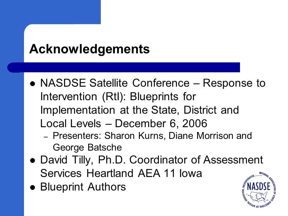 NASDSE/CASE White Paper Download at www.nasdse.org
