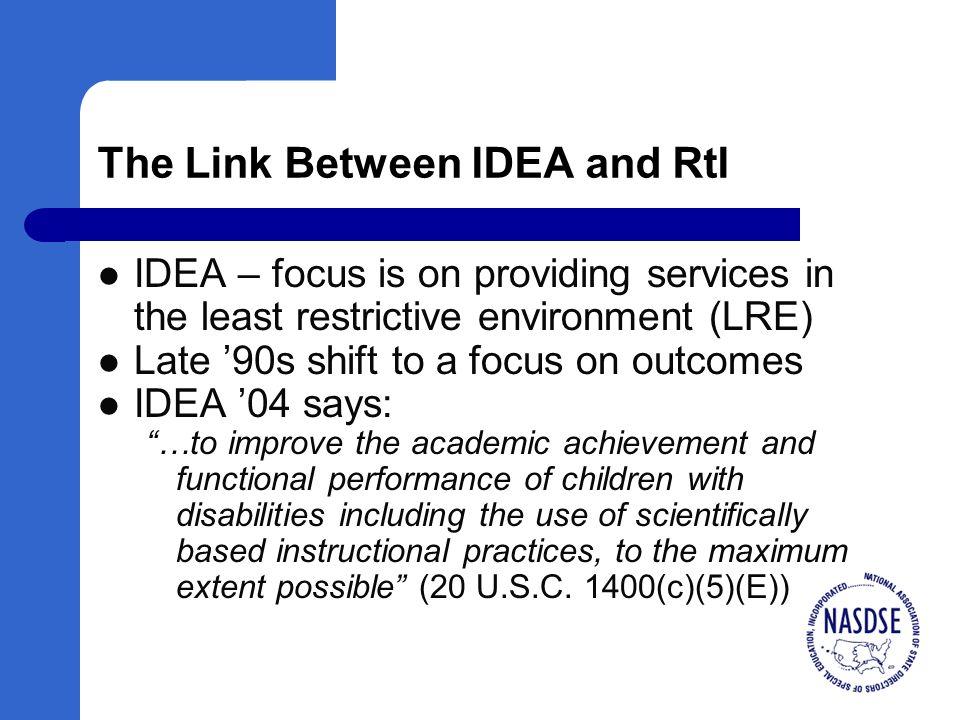 RtI Myths Paper Download at www.nasdse.org