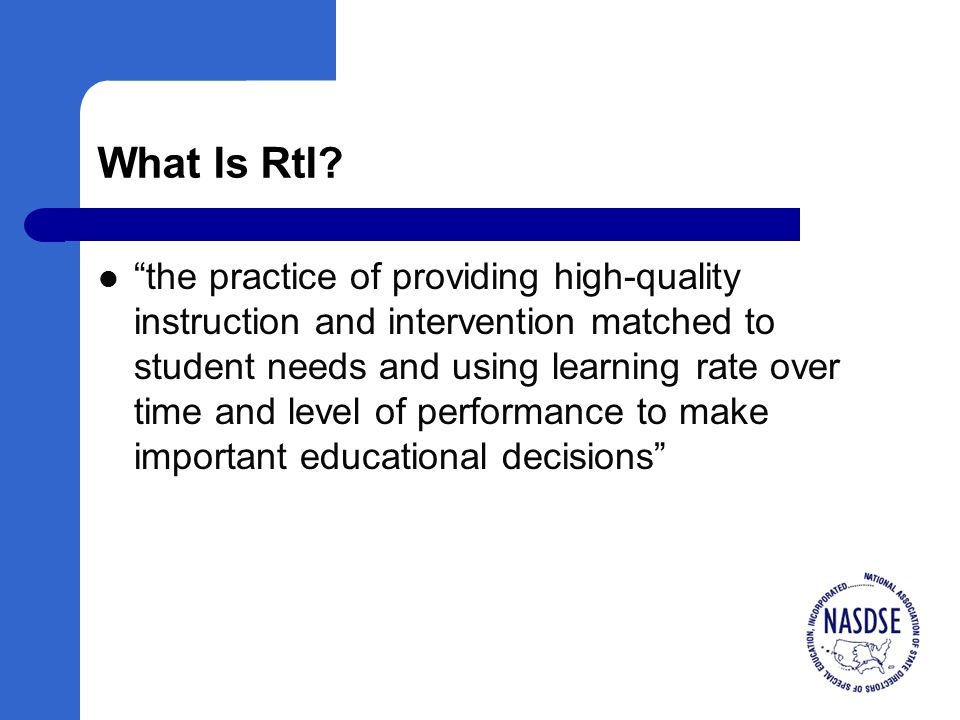 Guiding Questions (2) What specific supplemental and intensive instruction is needed.
