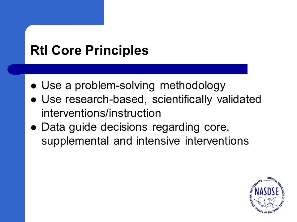 Blueprints for Implementation School Level