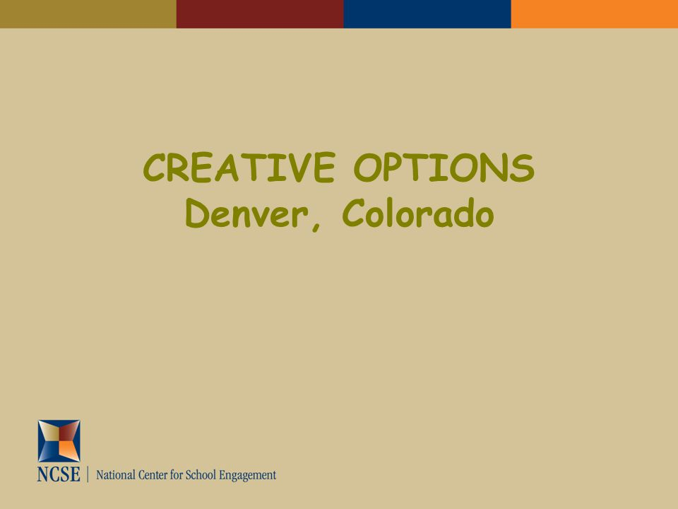 CREATIVE OPTIONS Denver, Colorado