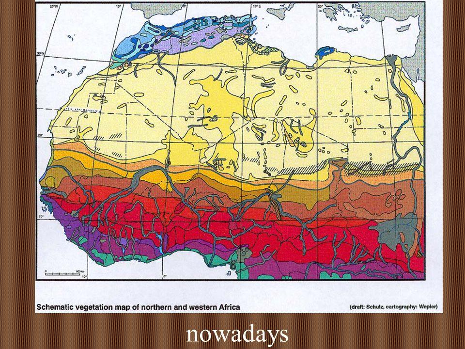 N Africa 8,000 y before-present