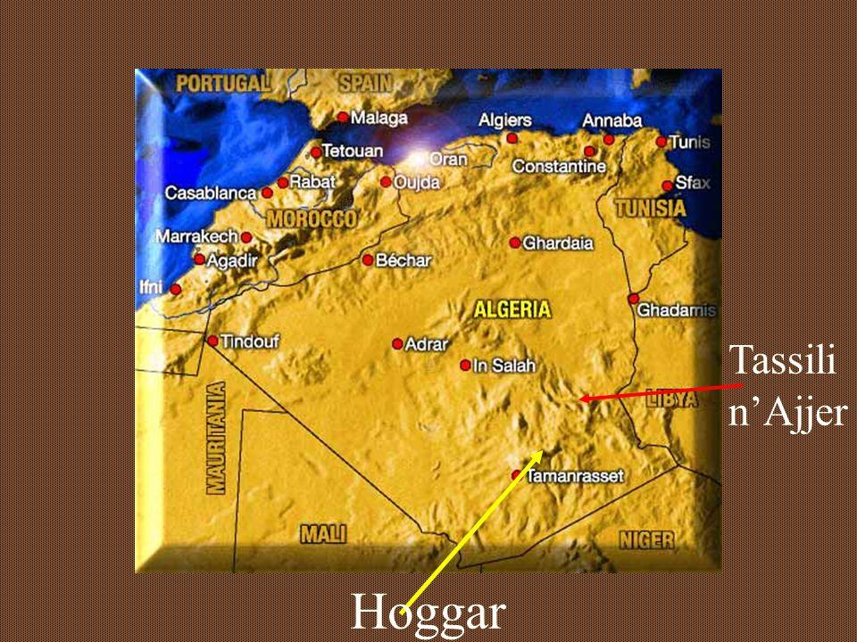 the setting Hoggar Aïr Tibesti