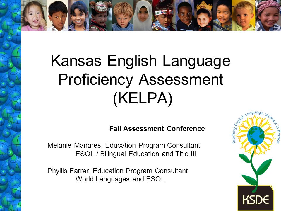 Grade cluster specific: K-1, 2-3, 4-5, 6-8, 9-12 K-1: all components administered individually Reading, & Writing: 2-12, group administered Listening items: 2-12 –group administered –standardized on audio CD, Speaking: K-12, individually administered