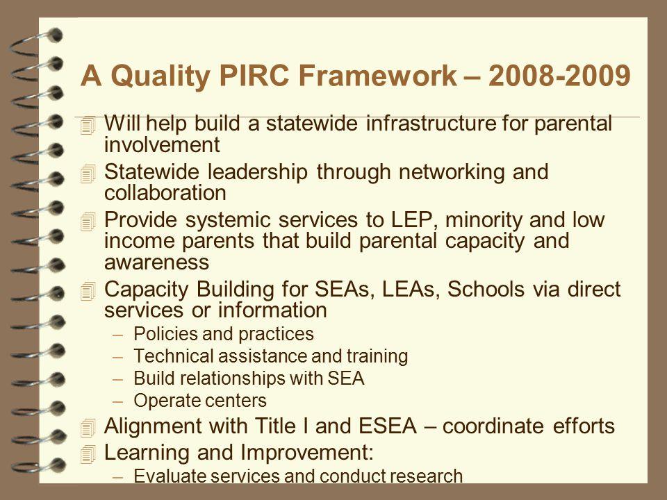 What is a PIRC .