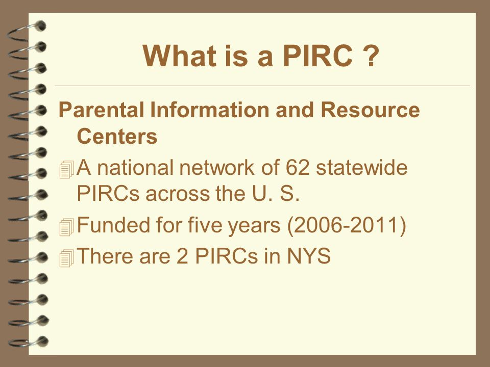 SES Providers- How can PIRC help your school reach parents.