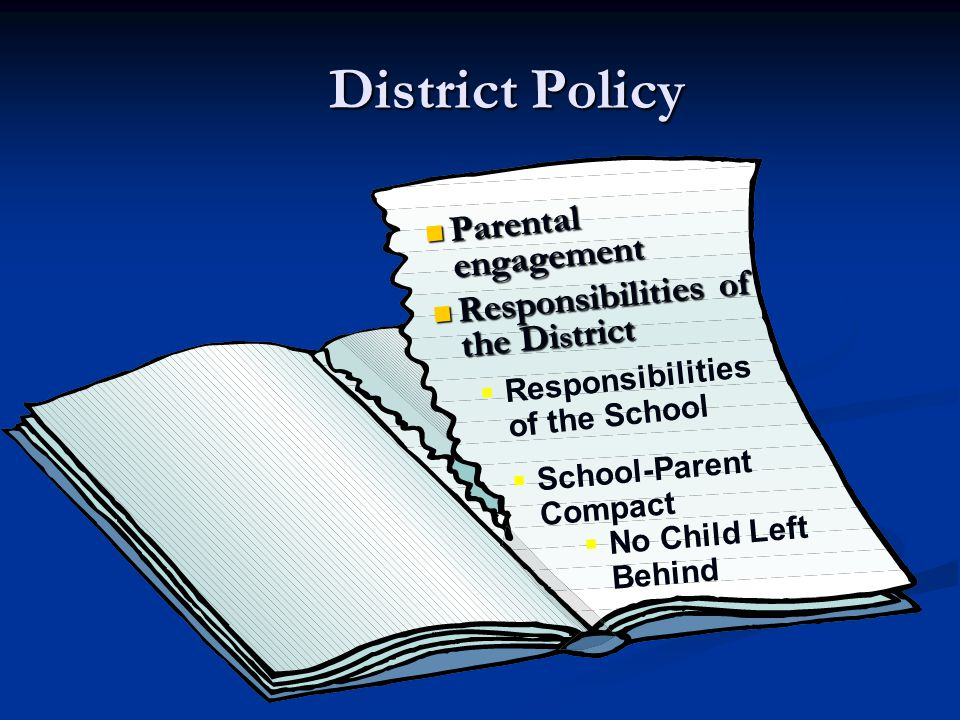 Vision El Paso Independent School District envisions a time when – Our parents will serve as equal partners in the educational enterprise Our parents