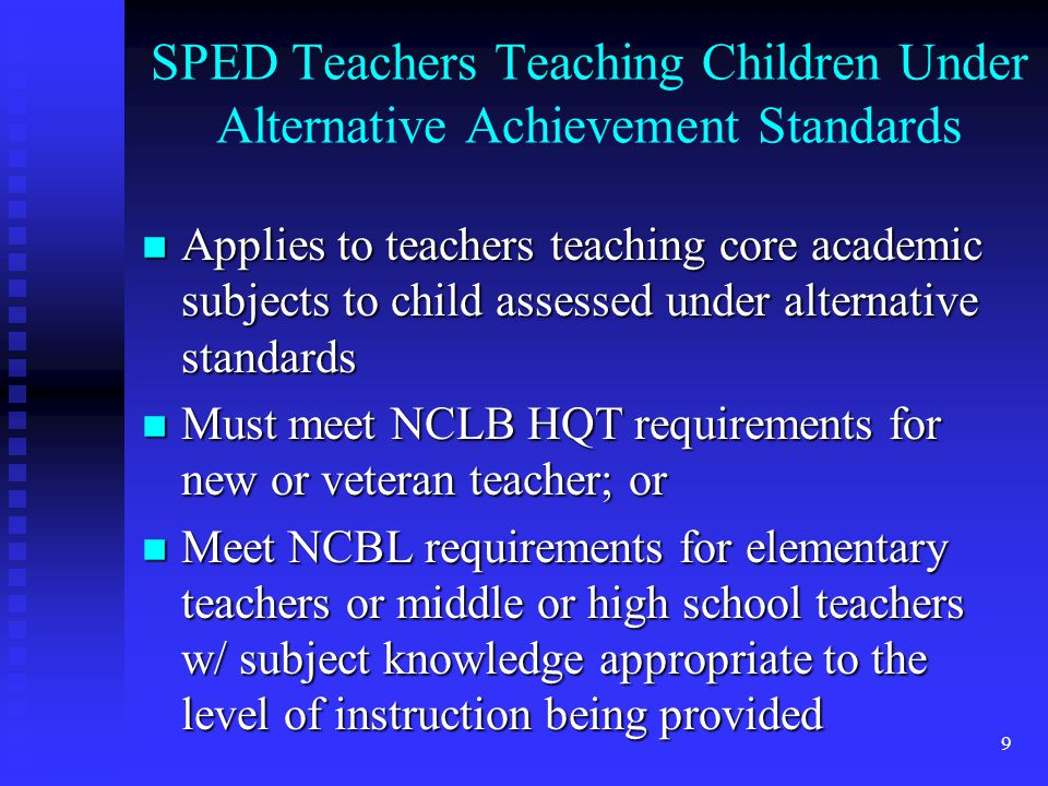 30 Comments on IEP Changes A major change is the elimination of STOs/benchmarks, which were included to assist parents to measure their child's progress.