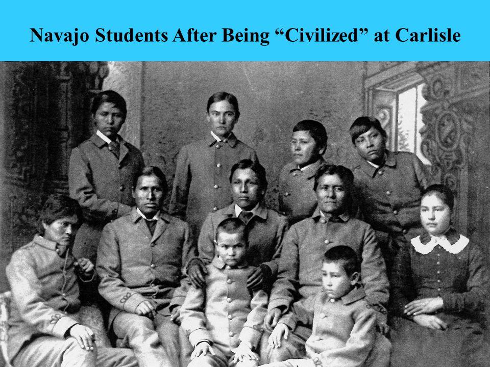 9 Ganado Mission School's Entrance About 1950