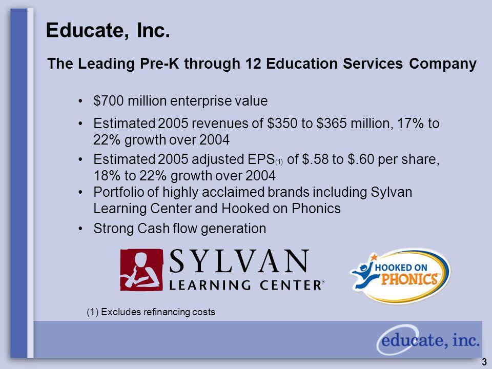 3 Educate, Inc.
