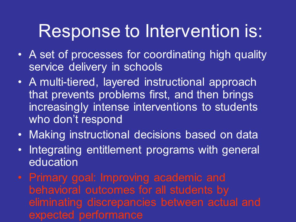 Progress Monitoring Tools Goal Attainment Scaling and Daily Behavior Report Cards Identify and operationalize target behaviors Create measureable descriptions that can be scaled so that change can be identified in relation to intervention Monitor fidelity of implementation