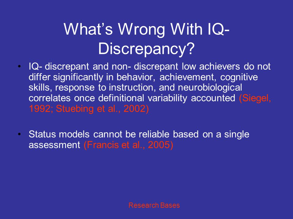 IDEA 2004: RTI or Discrepancy.