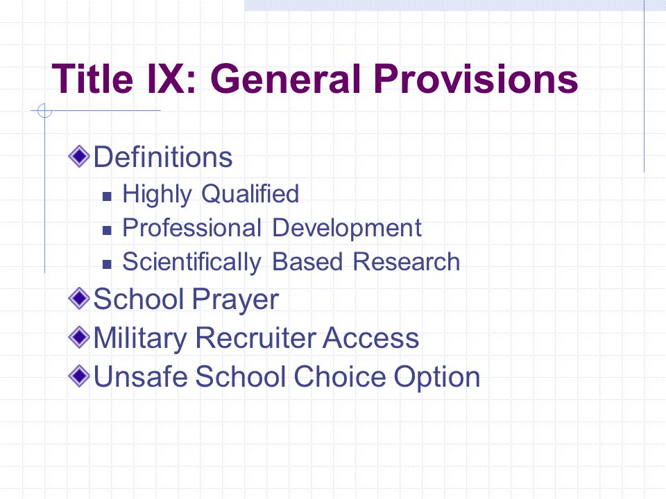 Title VIII: Impact Aide Aid for school districts affected by military bases, Indian reservations & other non-taxable federal land