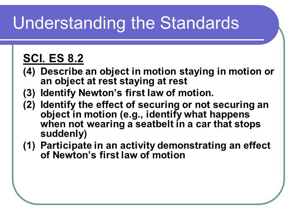 Understanding the Standards SCI.