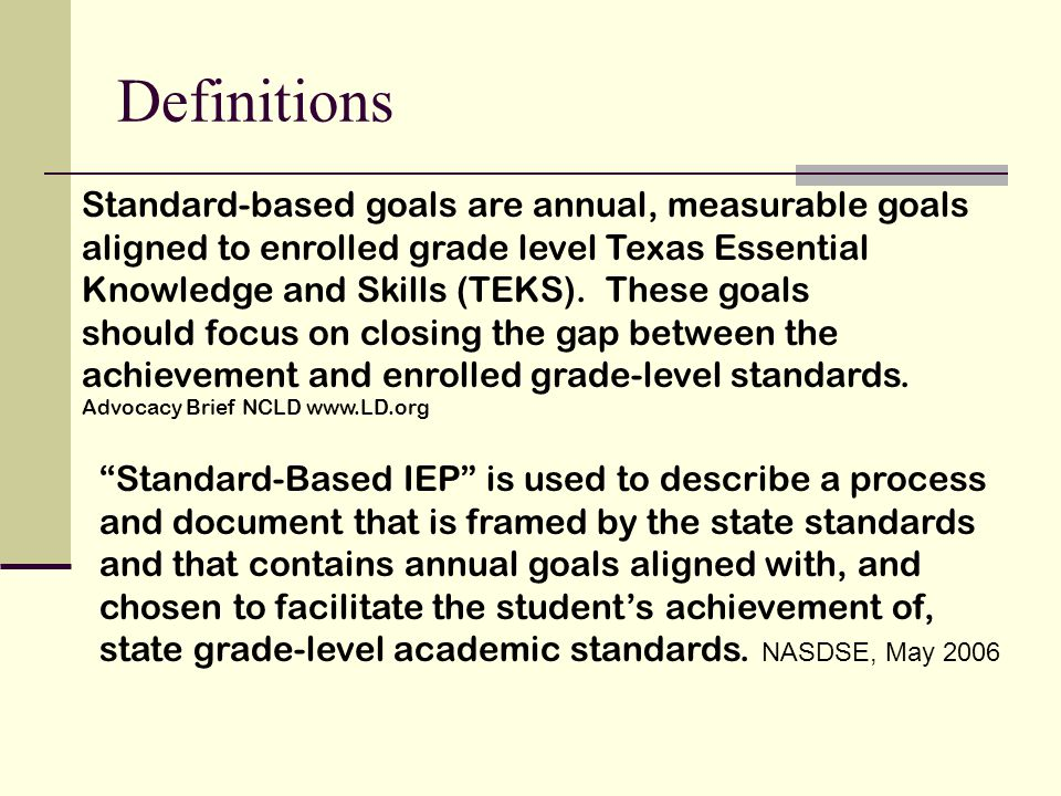 PLAAFPs 34CFR 300.320 (a)(1)(l) FEDERAL A statement of the child's present levels of academic achievement and functional performance, including how the child's disability affects the child's involvement and progress in the general education curriculum.