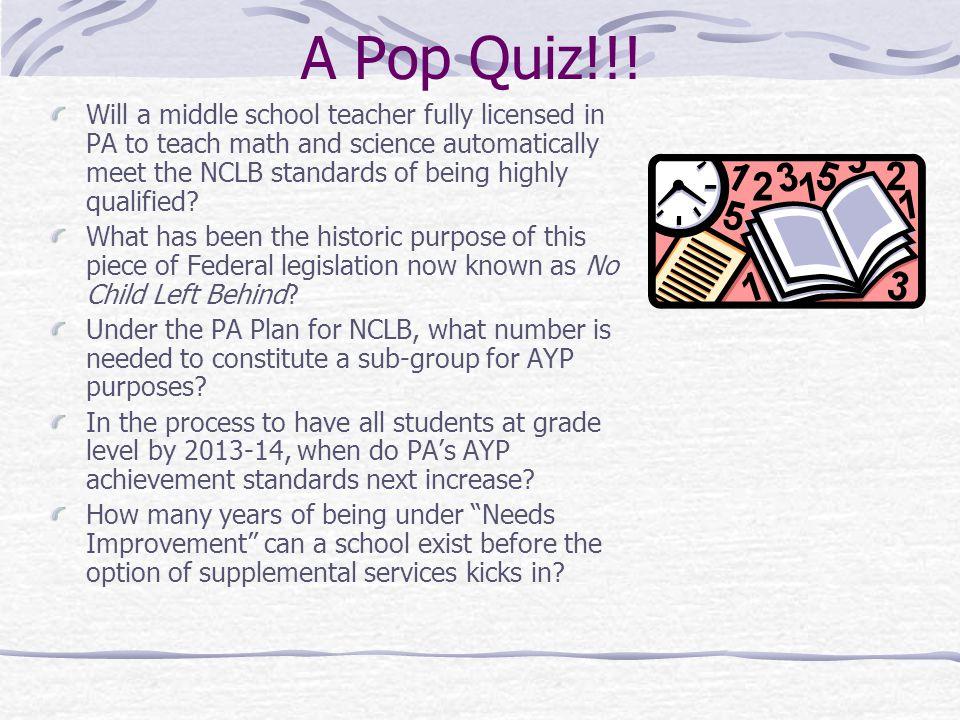 A Pop Quiz!!.