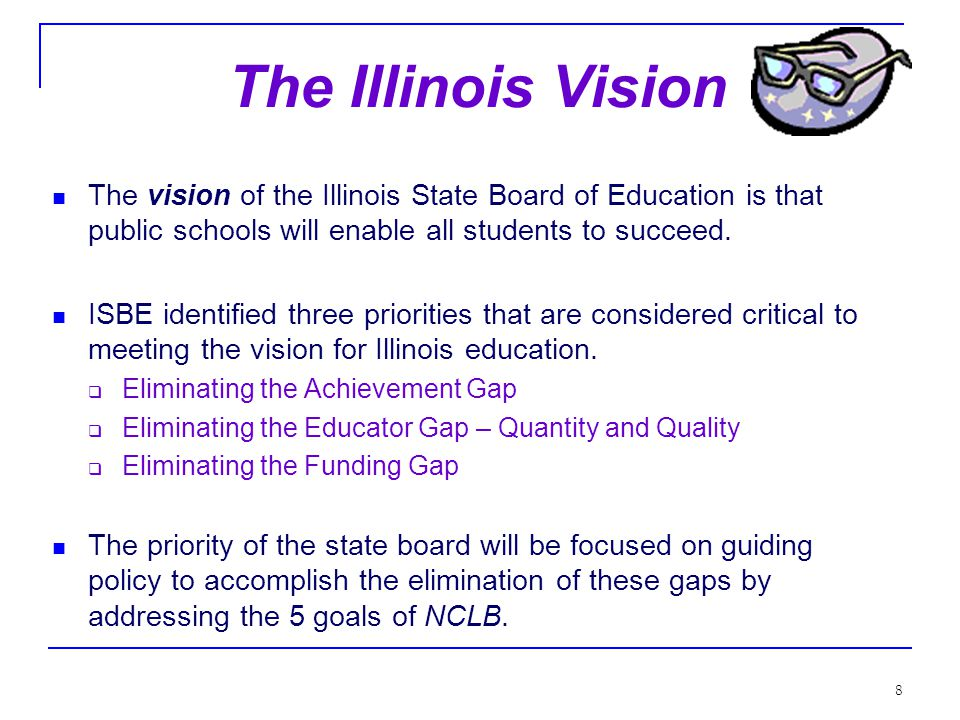 58 Students with Disabilities IDEA is being reauthorized at this time… Student – all public school children will be tested, including students with disabilities.