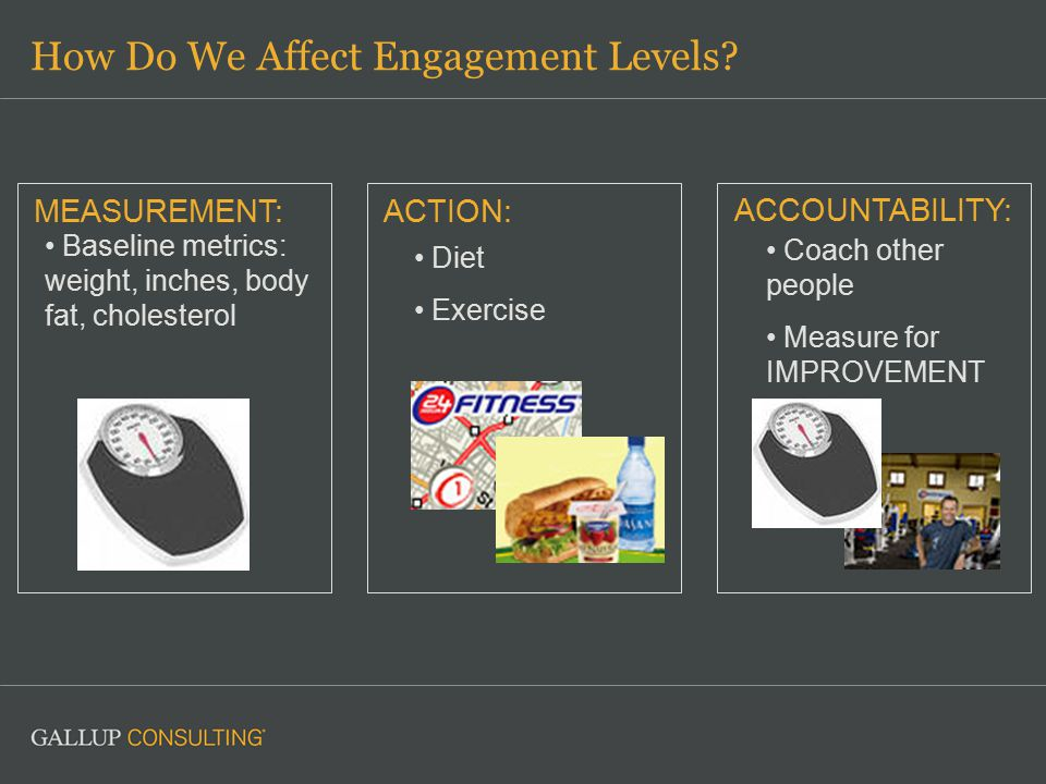 How Do We Affect Engagement Levels.
