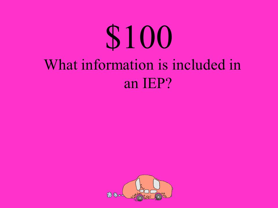 $100 What is meant by individual transition plans
