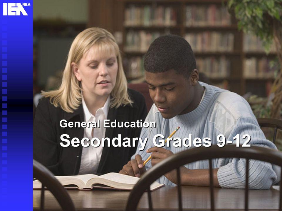 11 General Education Secondary Grades 9-12