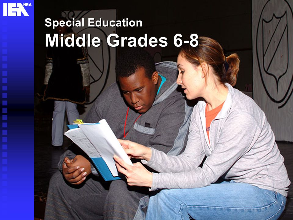 20 Special Education Middle Grades 6-8