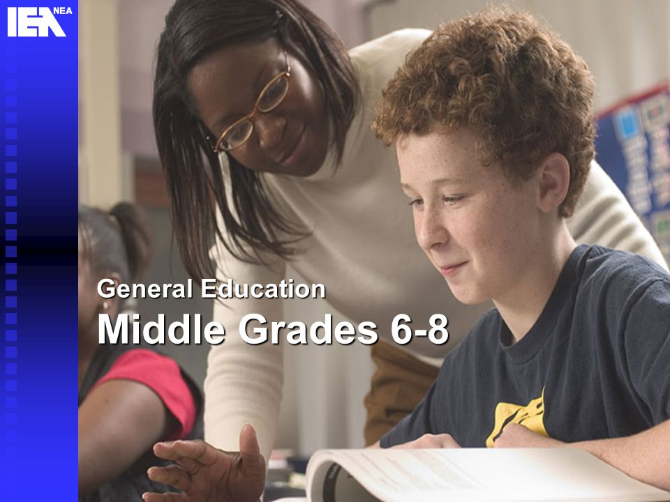 8 General Education Middle Grades 6-8