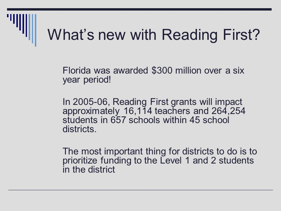 NCLB deadline July 1, 2006 … must have reading endorsement or reading certification if teaching a reading class to students in grades 7-12