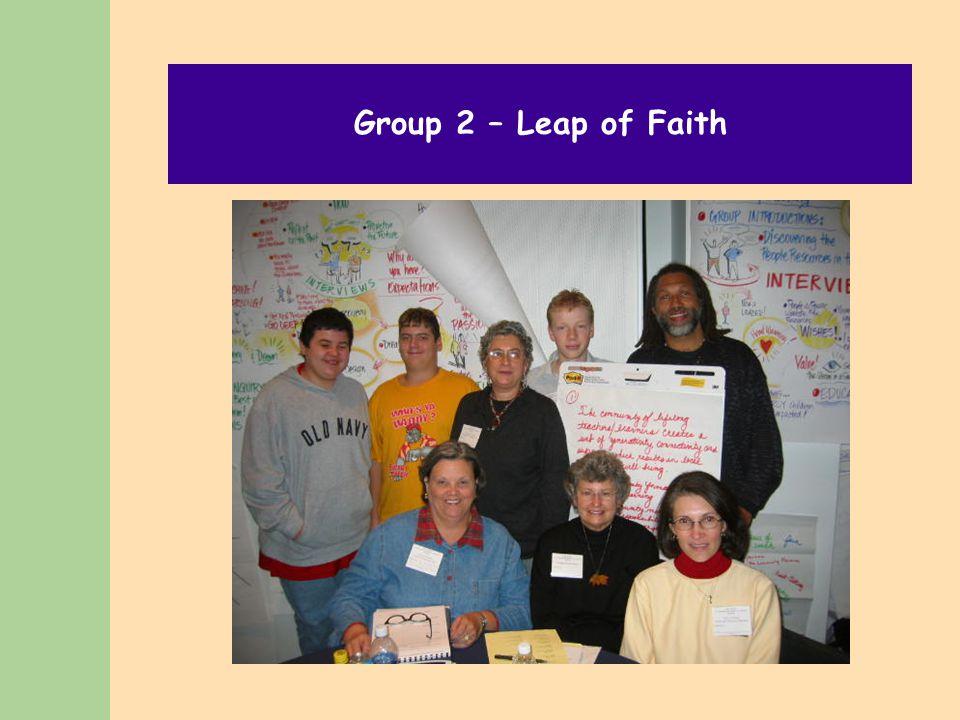 Group 2 – Leap of Faith