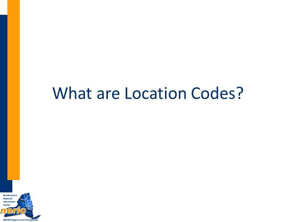 What are Location Codes
