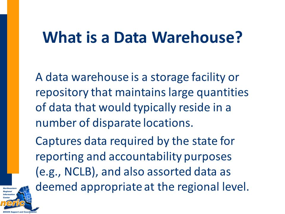 What is a Data Warehouse.