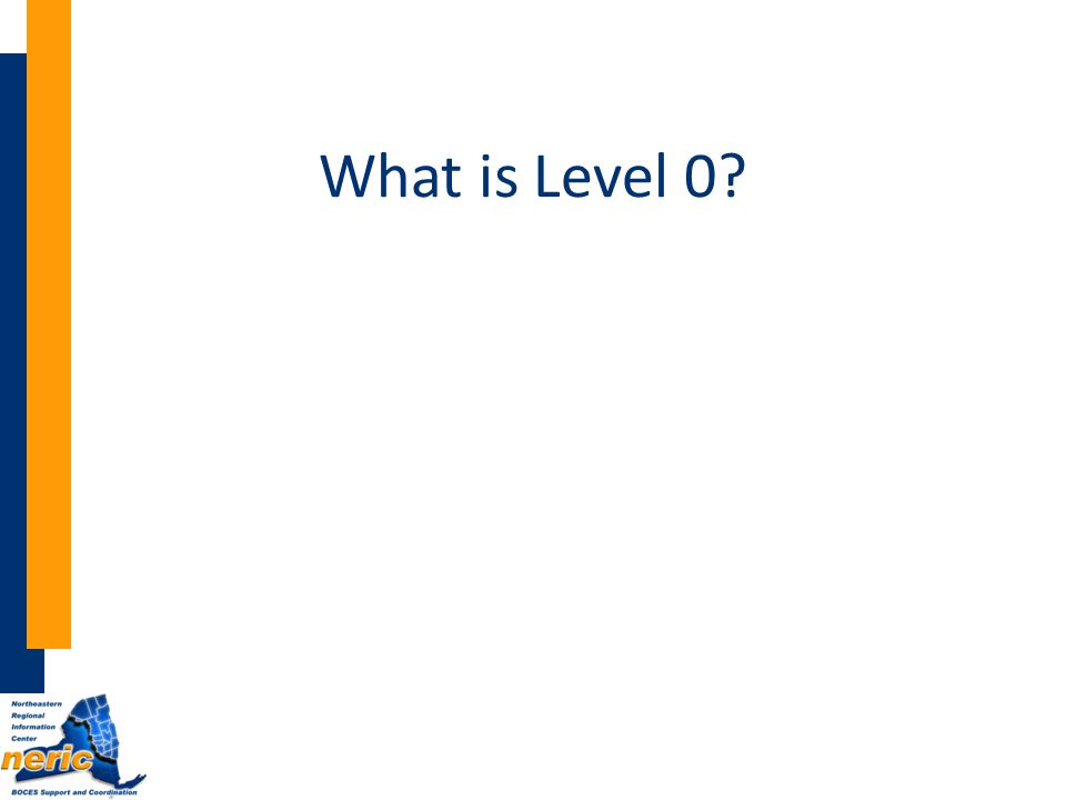 What is Level 0?