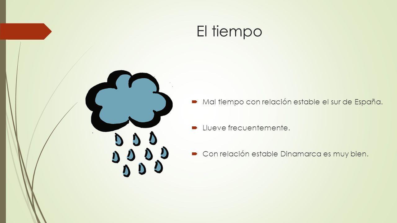El tiempo  Mal tiempo con relación estable el sur de España.