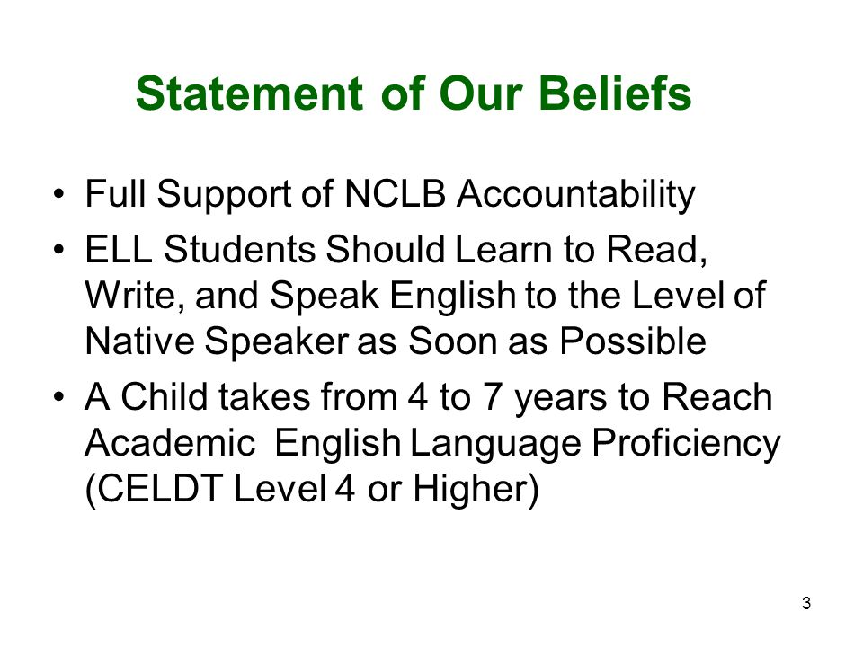 4 Implementation of NCLB in California Adequate Yearly Progress – Federal Measure – Based on Percentage of Students At or Above Proficient Academic Performance Index – State Measure – Based on Growth in Points on a Scale of 200 - 1000