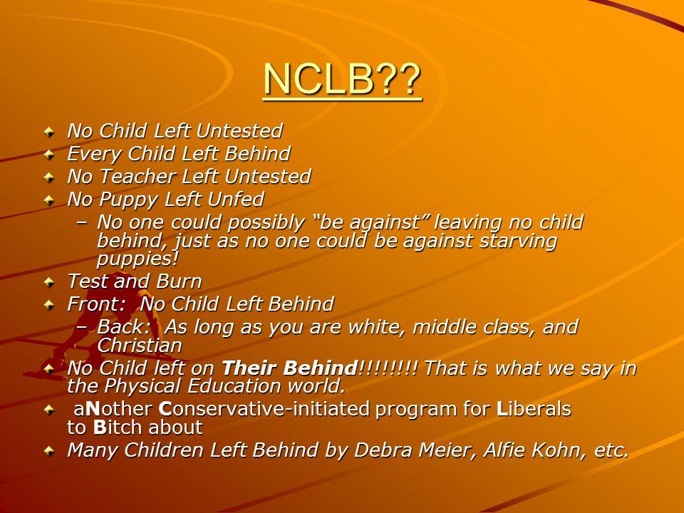 NCLB .