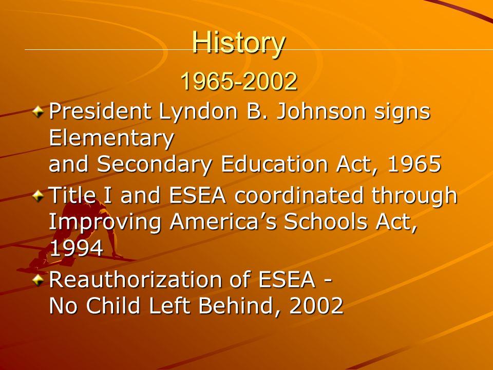 History President Lyndon B.