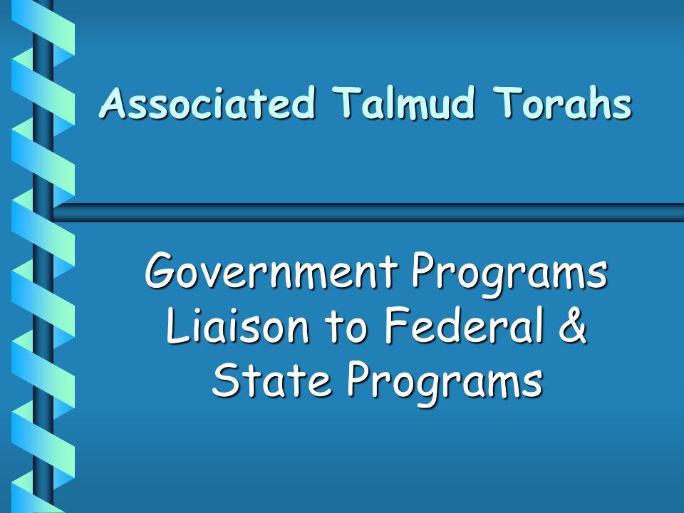 Hierarchy of Federal Education Programs