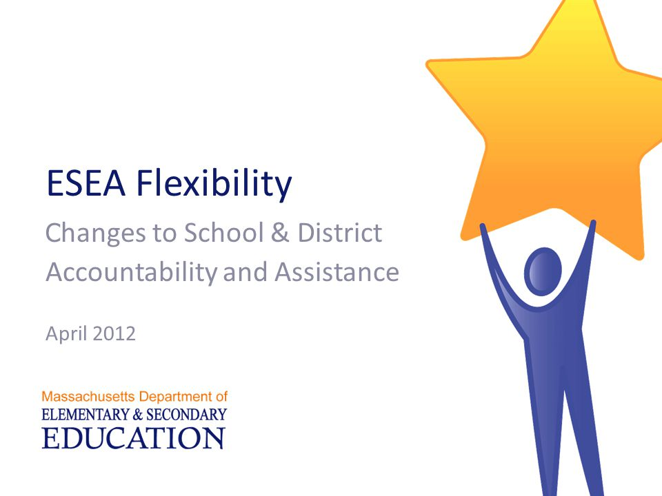 Classifying schools & districts Massachusetts Department of Elementary and Secondary Education 22  Charter schools will be assigned levels  Districts will be classified based on their lowest- performing schools  Exception for certain Level 4 and 5 districts designated based on Board action  Better alignment between levels & district accountability determinations for special education