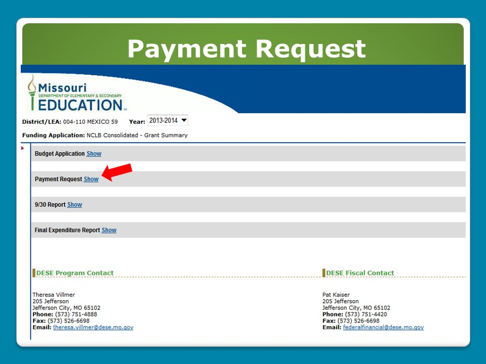 Payment Request 42