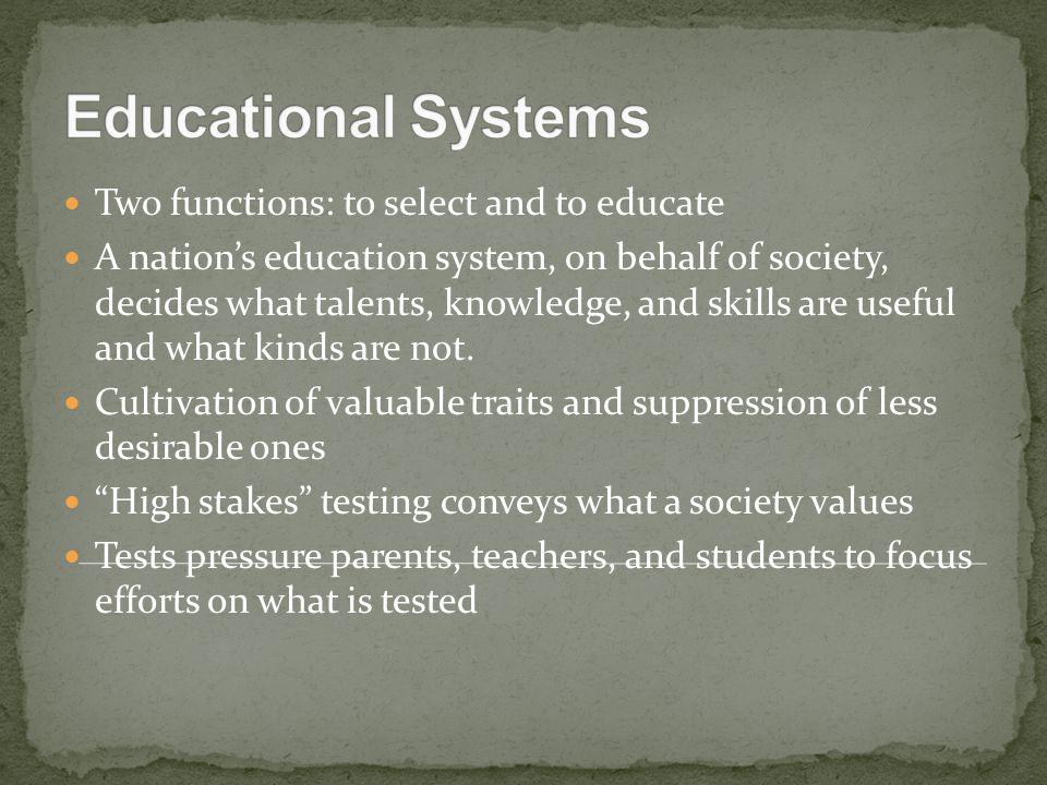 World's largest formal education system – reform developments since 1950.