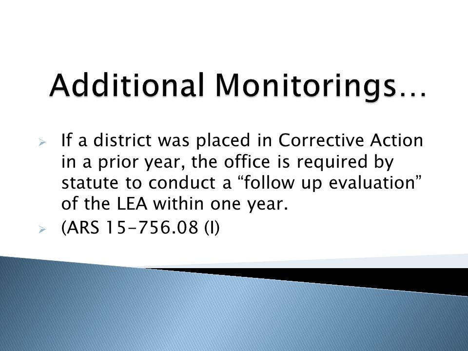  In conducting the follow-up evaluation, if the department finds that the school district or charter school is not in compliance with state and federal laws applicable to English language learners, the department shall refer the school district or charter school to the State Board of Education for a finding of noncompliance.