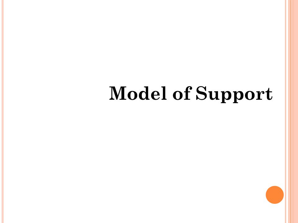 Model of Support