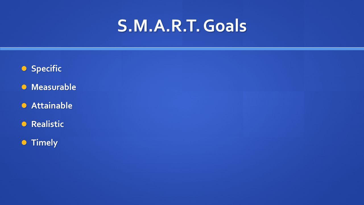 S.M.A.R.T.