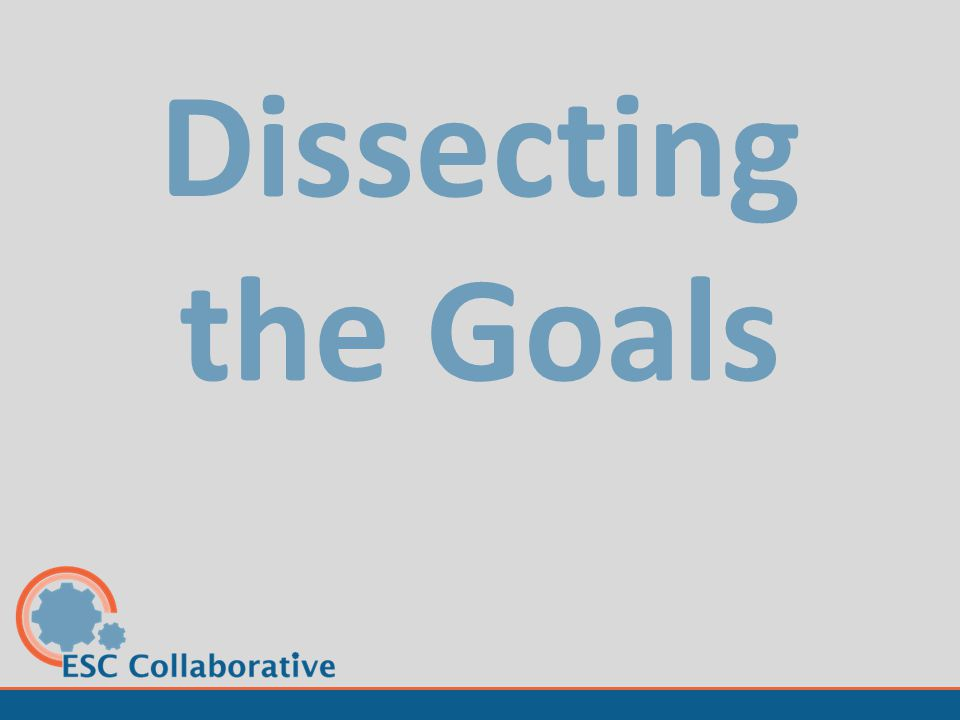 Dissecting the Goals