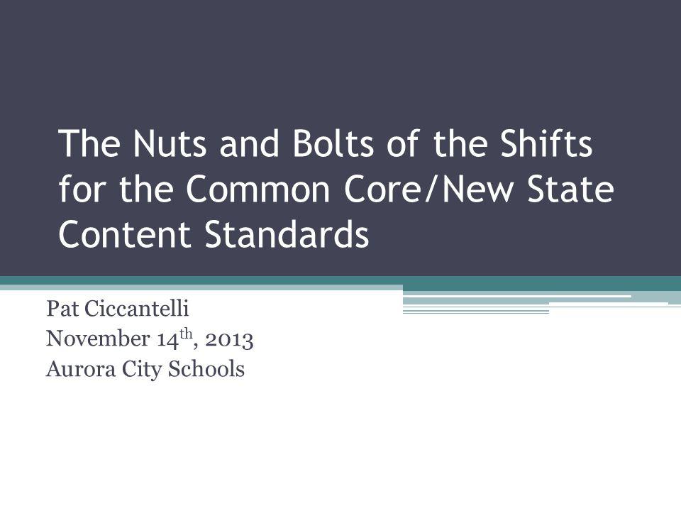Shift in Assessment Questions-ELA
