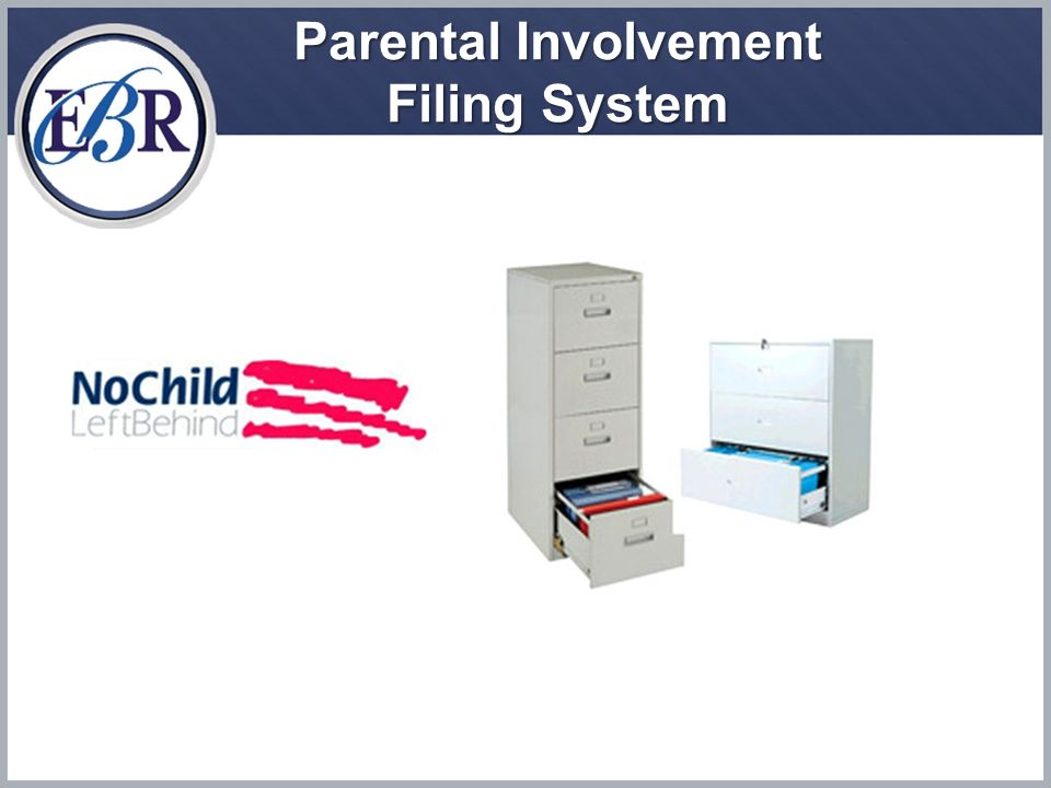 Parental Involvement Filing System
