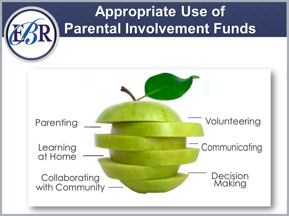 Appropriate Use of Parental Involvement Funds