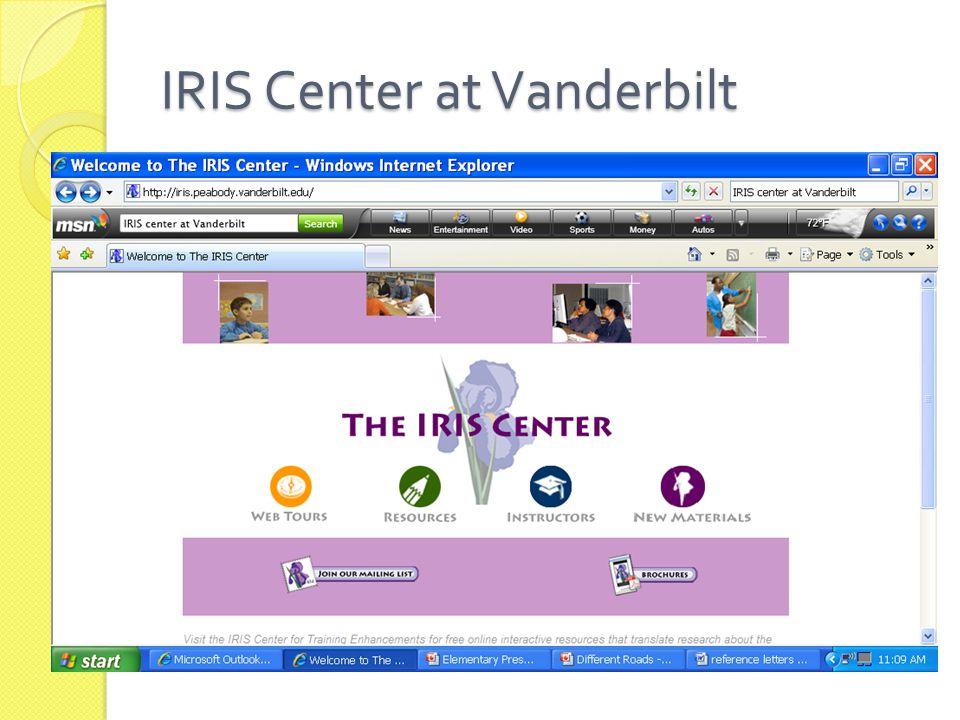 IRIS Center at Vanderbilt