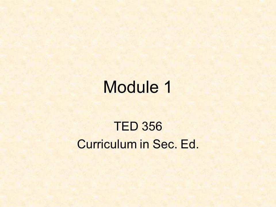 Module 1 History of secondary education.Purpose of secondary education.