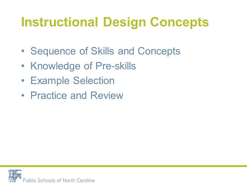 Targeted Instruction is Explicit –Focus on making connections –Explanation of concepts Systematic – Teaches skills in their naturally acquired order Multi-sensory Cumulative –Connecting to prior knowledge and learning Direct –Small group based on targeted skills –Progress monitored