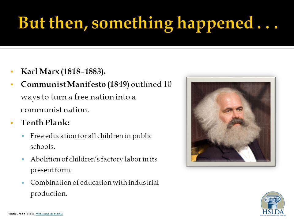  Karl Marx (1818–1883).